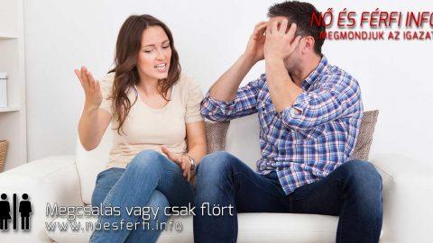 Megcsalás vagy csak flört