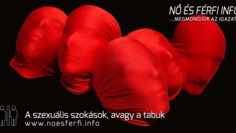 A szexuális szokások, avagy a tabuk
